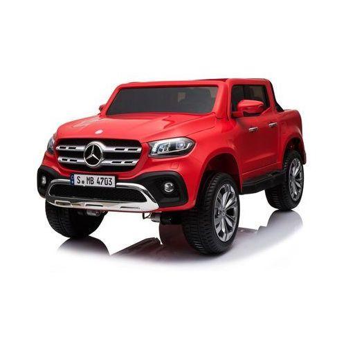 Hecht mercedes benz xmx606 red samochód elektryczny akumulatorowy terenowy auto jeździk pojazd zabawka dla dzieci marki Hecht czechy