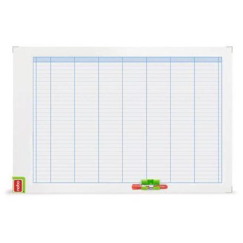 Tablica planer NOBO 60x90cm - tygodniowy 3048201