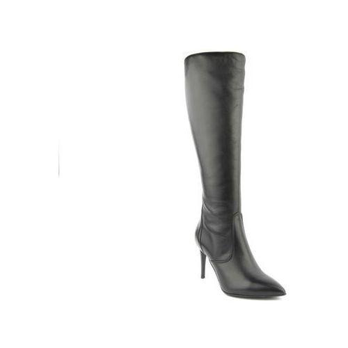 Kozaki damskie Conhpol Bis 2730, kolor czarny