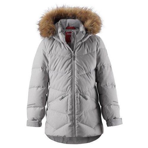 kurtka zimowa dziewczęca ennus 104 jasnoszara marki Reima