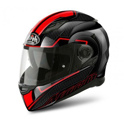 Airoh Kask movement s faster red gloss