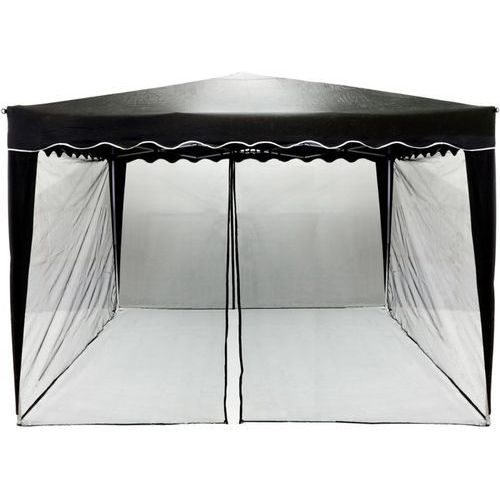 Instent ® Czarna moskitiera siatka ochronna do pawilonu 3x3m - czarny (30030046)