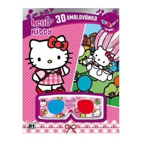 Hello kitty 3d vymaľovanky/ hello kitty (9788087818404)