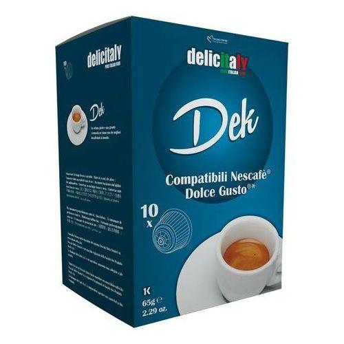 Nespresso kapsułki Delicitaly dek (kawa bezkofeinowa) kapsułki do dolce gusto – 10 kapsułek