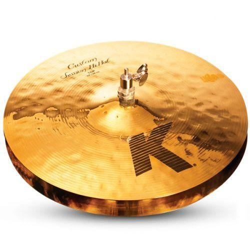 Zildjian 14″ k custom custom session hi-hat talerz perkusyjny