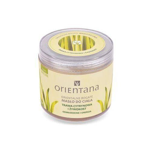 Orientana Bogate masło do ciała - Trawa cytrynowa i żywokost Bogate masło do ciała - Trawa cytrynowa i żywokost, 919