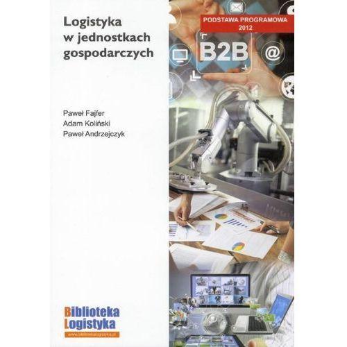 Logistyka w jednostkach gospodarczych - Fajfer Paweł, Koliński Adam, oprawa broszurowa