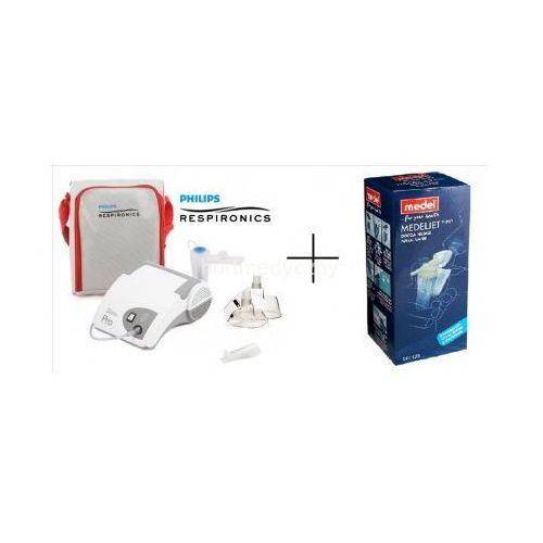 Inhalator Philips Respironics PRO Soft Touch + 2 maseczki + nebulizator do zatok Rhino GRATIS (inhalator)