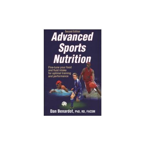 Advanced Sports Nutrition, Benardot, Dan