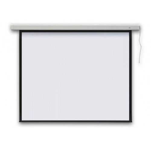 Ekran elektryczny profi 1:1, 174x174cm matt white marki 2x3