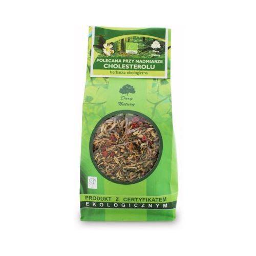 Dary natury 200g herbata polecana przy nadmiarze cholesterolu liściasta bio