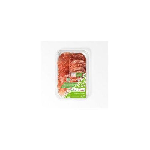 Karczek dojrzewający coppa di parma i salami milano plastry mix (antipasti italiano) bio 70 g - marki Primavera