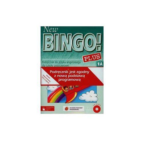 New Bingo Plus 1A Podręcznik z płytą CD + Zeszyt ćwiczeń bez elementów pisania - Wyprzedaż do 90%, Wydawnictwo Szkolne PWN