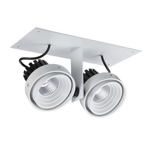 Lampa sufitowa Italux Patrizio Double GL7118-2/2X12W 4000K WH+BL oprawa 2x12W LED biały/czarny