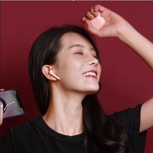 Baseus True W04   Słuchawki bezprzewodowe bluetooth 5.0 z etui ładującym wodoodporne, kolor biały