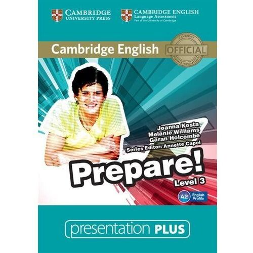 Cambridge english prepare! 3 presentation plus dvd (płyta dvd) marki Cambridge university press