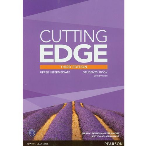 Cutting Edge Upper-Intermediate Student's Book Z Płytą Dvd (179 str.)