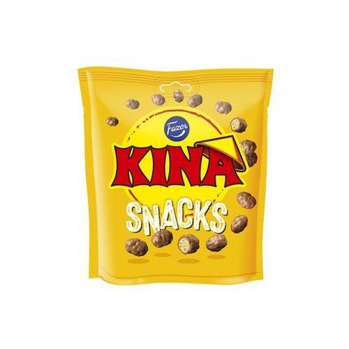- kina - snacks gul - ptysie pszenne oblane mleczną czekoladą - 200g - z finlandii marki Fazer