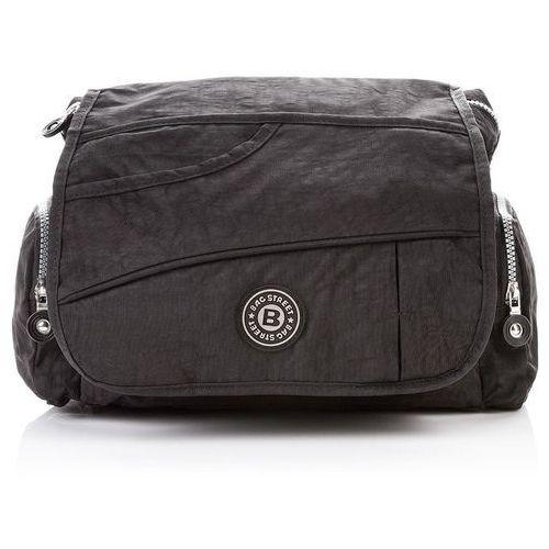 9c0eb6086b19c Bag street Sportowa torebka damska listonoszka czarna - czarny 59