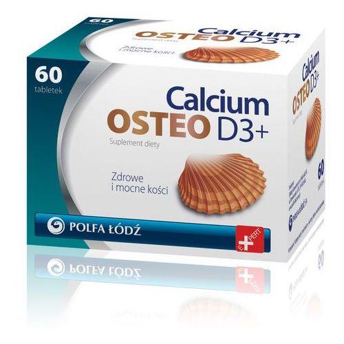 CALCIUM OSTEO D3 PLUS 60 tabletek, produkt z kategorii- Leki na osteoporozę