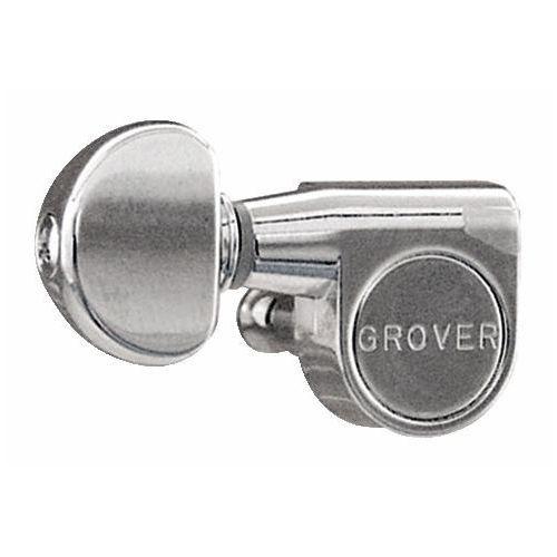Grover pedal steel guitar machine heads, chrome / 10 pieces klucze do gitary