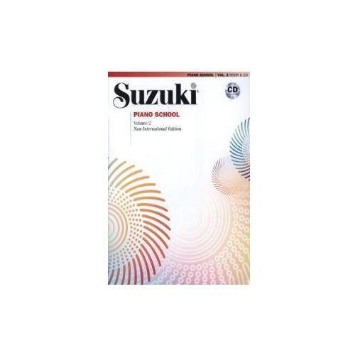 Suzuki Piano School, New International Edition, w. Audio-CD. Vol.2 (9780739051665)