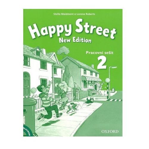 Happy Street New Edition 2 Activity Book And Multirom Pack Cz, Maidment Stella