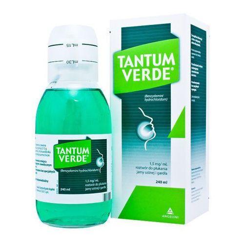 TANTUM VERDE Płyn do płukania gardła i jamy ustnej - 240 ml - produkt dostępny w Apteka Internetowa OLMED