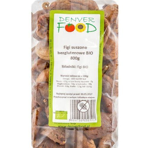 Figi Suszone Bezglutenowe BIO 800 g Denver Food, 5904730450591
