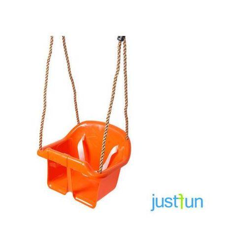 Huśtawka kubełkowa ECO - pomarańczowy ze sklepu OTITU.PL