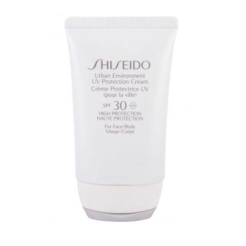 Shiseido Urban Environment SPF30 preparat samoopalający do twarzy 50 ml dla kobiet