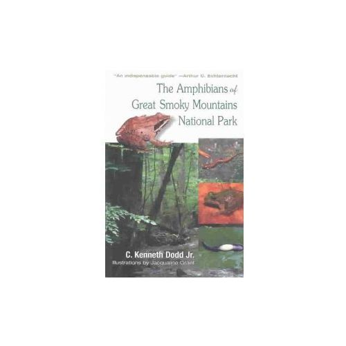 Amphibians of Great Smoky Mountains (9781572332751)