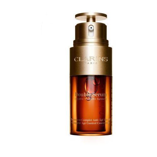 double serum globalna esencja przeciw oznakom starzenia się skóry 50ml marki Clarins