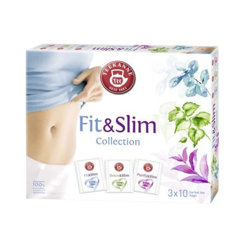 Teekanne 48g fit & slim collection box kolekcja herbatek ziołowych (3x10 torebek)