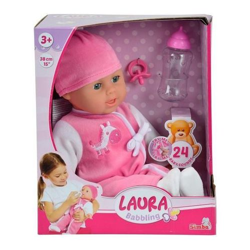 Lalka SIMBA Laura gaworząca 105140488 - produkt dostępny w ELECTRO.pl