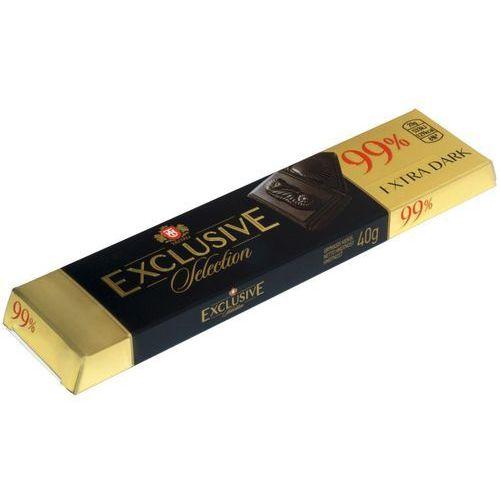 czekolada gorzka TAITAU Exclusiv 99% kakao, tabliczka 50g wysokiej jakości czekolada z kakao pochodzeniem z Ghany, Arriby i Granady (4779021231194)