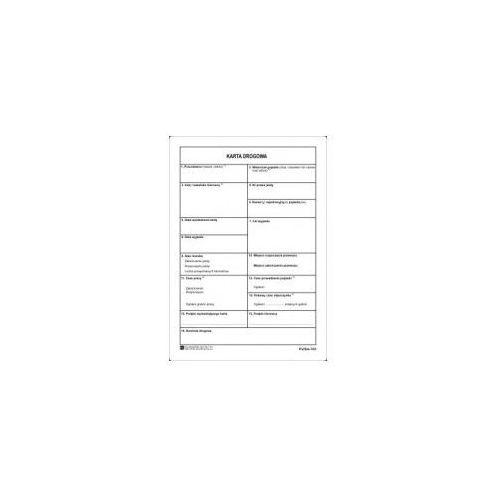Karta drogowa ewidencji czasu pracy kierowcy [Pu/Sm-103], 47353