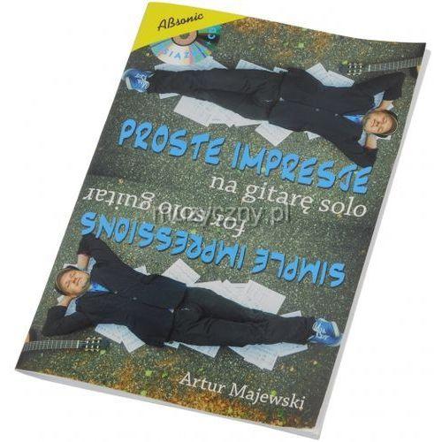 AN Majewski Artur ″Proste impresje na gitarę solo″ książka + CD