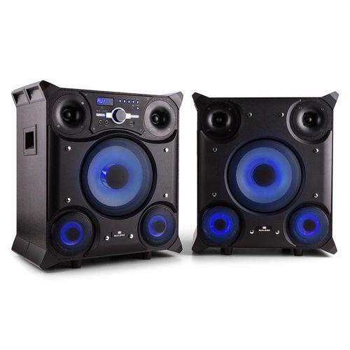 gtx-5 system głośnikowy na imprezy 800 w bluetooth usb ukw led marki Malone