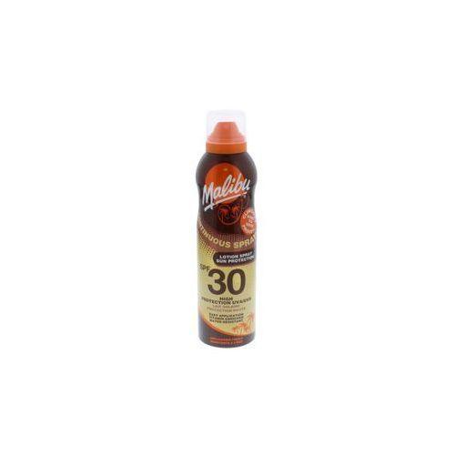 Malibu Continuous Spray SPF30 preparat do opalania ciała 175 ml dla kobiet