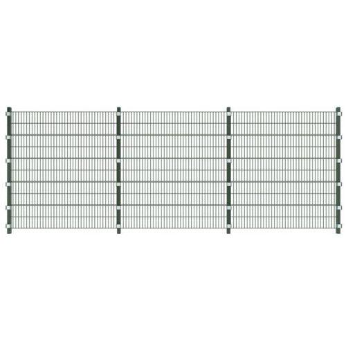 Ogrodzenie panelowe 6 m z słupkami 2 wysokości, marki vidaXL do zakupu w VidaXL
