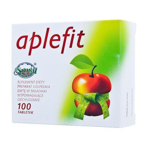 Aplefit tabletki na odchudzanie Naturell - ocet winny jabłkowy 100tabl - tabletki Tabletkina odchudzanie