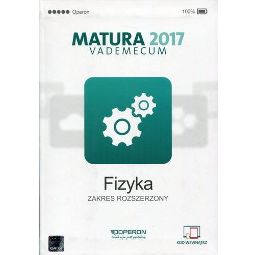 Vademecum 2017 LO Fizyka ZR OPERON