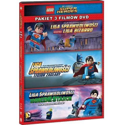 Galapagos Film lego® liga sprawiedliwości: kolekcja 3 filmów