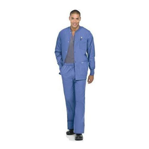 Męskie spodnie medyczne Landau Mens 8550 - ROYAL BLUE L (odzież medyczna)