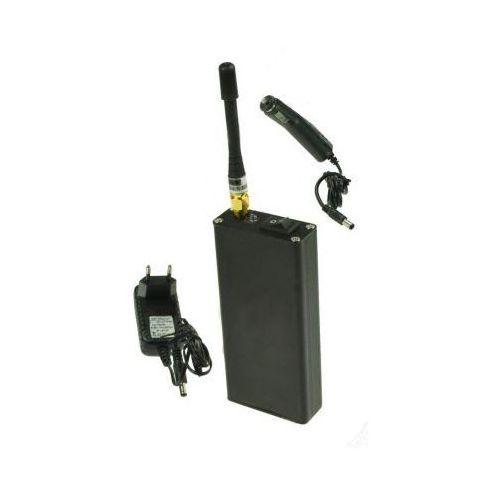 Przenośny (wbudowany AKU) Zagłuszacz Lokalizatorów GPS.