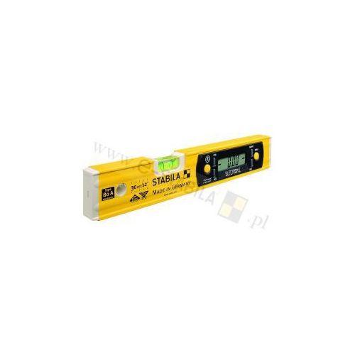 Poziomica elektroniczna Stabila 80 A ELECTRONIC 17323, Długość: 31.5 cm, Dokładność libelli: 0.5 mm/m