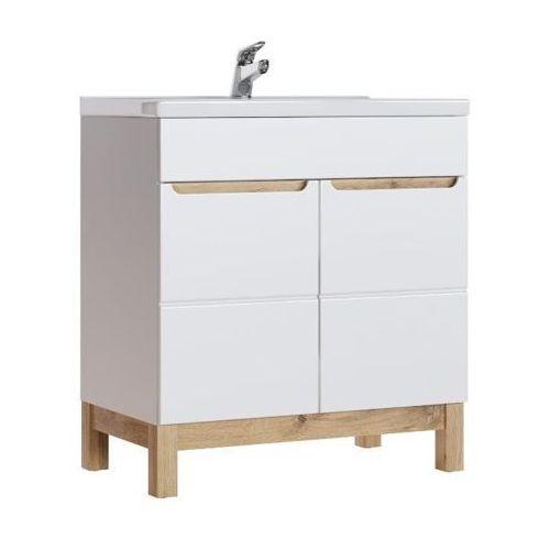 Comad Szafka łazienkowa 80 cm pod umywalkę bali