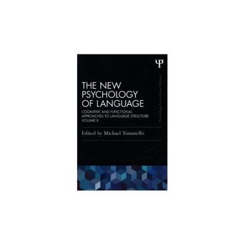 New Psychology of Language (9781848725942)