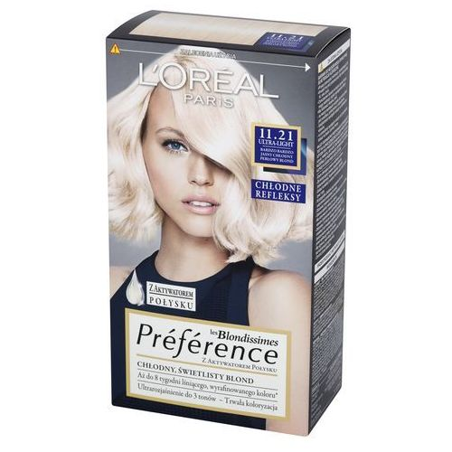 L'Oreal Paris, les Blondissimes Preference. Farba do włosów, 11.21 Ultra-Light - L'Oreal Paris